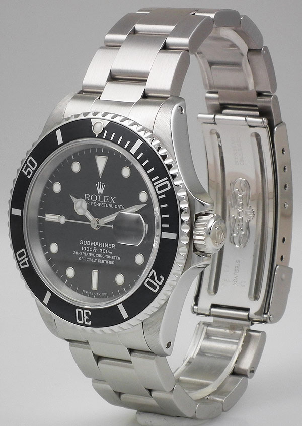 Rolex Oyster Perpetual Submariner Date 16610 (1995)