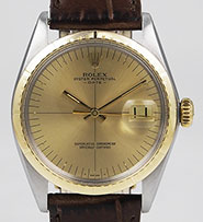 Rolex Oyster Perpetual Date Zephyr - Original Dial