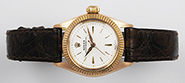 Ladies Rolex Oyster Perpetual 18ct 18K Pink Gold 6619