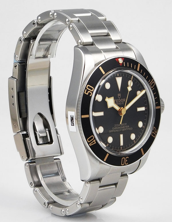 Tudor Black Bay Fifty Eight In Stainless Steel Black Dial Brand