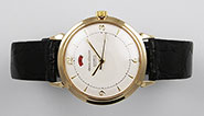 9ct 9K Jaeger LeCoultre Automatic PowerMatic Power Reserve - White Dial