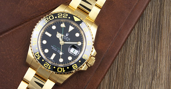 Rolex Oyster Perpetual GMT Master II 116718LN 18K Black Dial