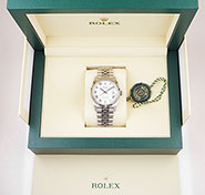 Rolex Oyster Perpetual DateJust 36mm - 126234 - White Roman Numeral Dial