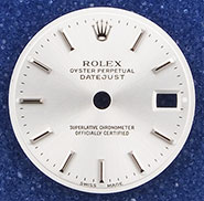 Ladies Rolex Oyster Perpetual DateJust Dial - 69136 69174 69179 79136 79174 79179